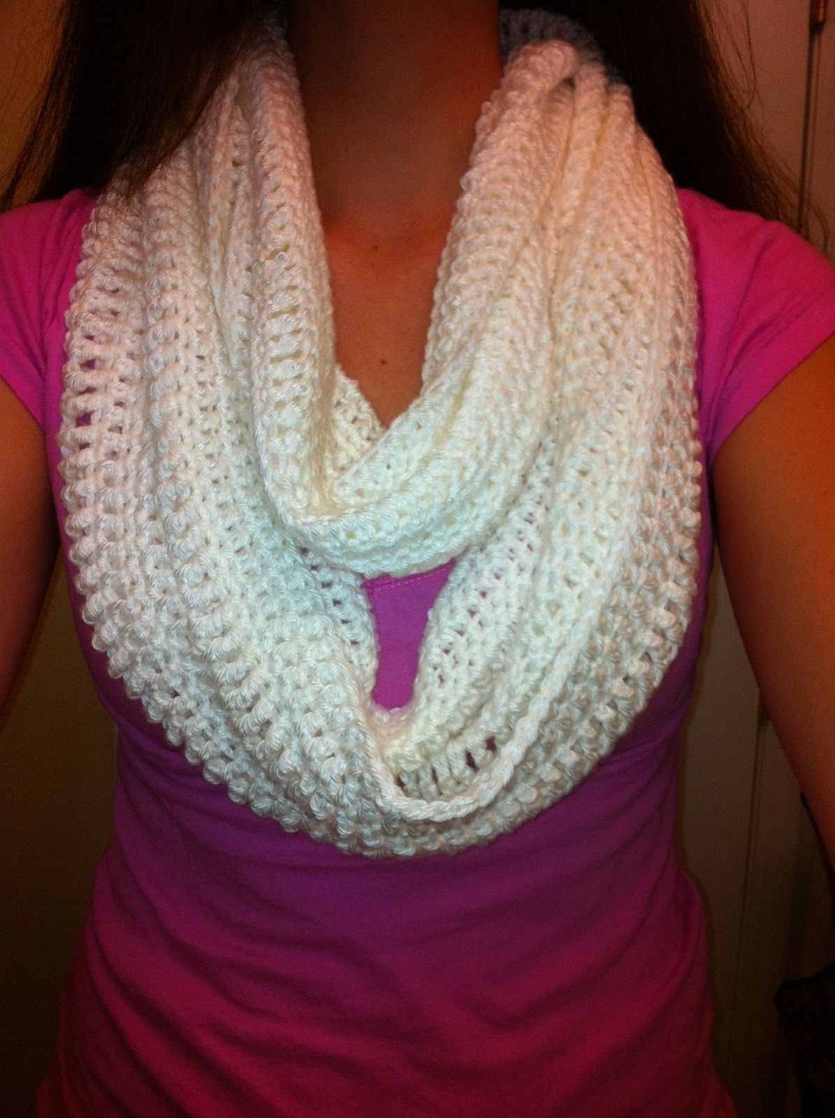 Crochet Infinity Scarf Another Free Pattern | crochet scarves ...