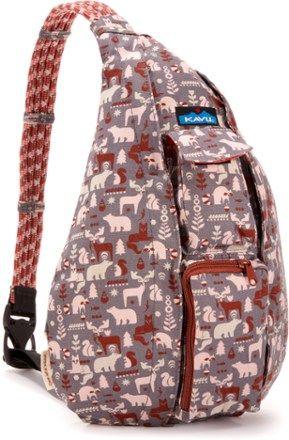 KAVU Rope Sling Bag Wild Woods a643bee68c237