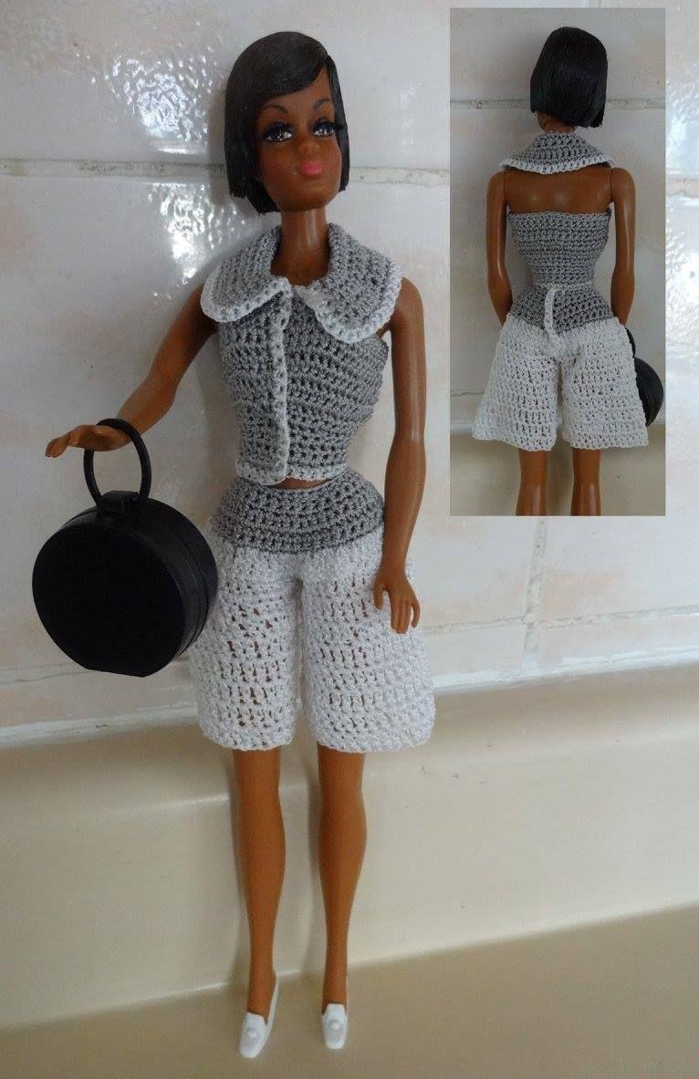 Pin von Graciela Vega auf barbie modelos en crochet ...