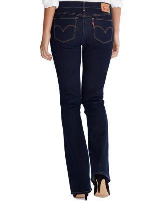 Levi S Women S 715 Bootcut Jeans Reviews Women Macy S Bootcut Jeans Stretch Denim Black Bootcut Jeans