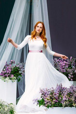 Hippie Hochzeitskleid mit Ärmeln | Brautkleid mit Spitze, Hippie ...