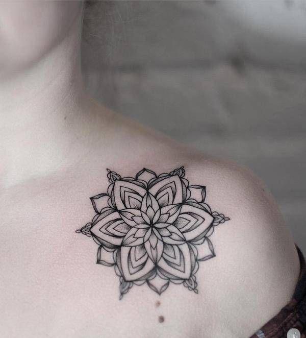 6514d1388868e Pin by TattooGrid on < Mandala Tattoos > | Mandala tattoo, Mandala ...