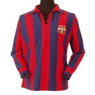 Barcelona 1950s Retro Football Shirt Retro Football Shirts Classic Football Shirts Football Shirts