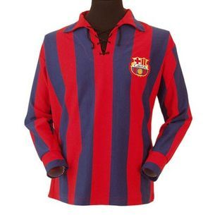 c6822ccee Barcelona 1950s Retro Football Shirt