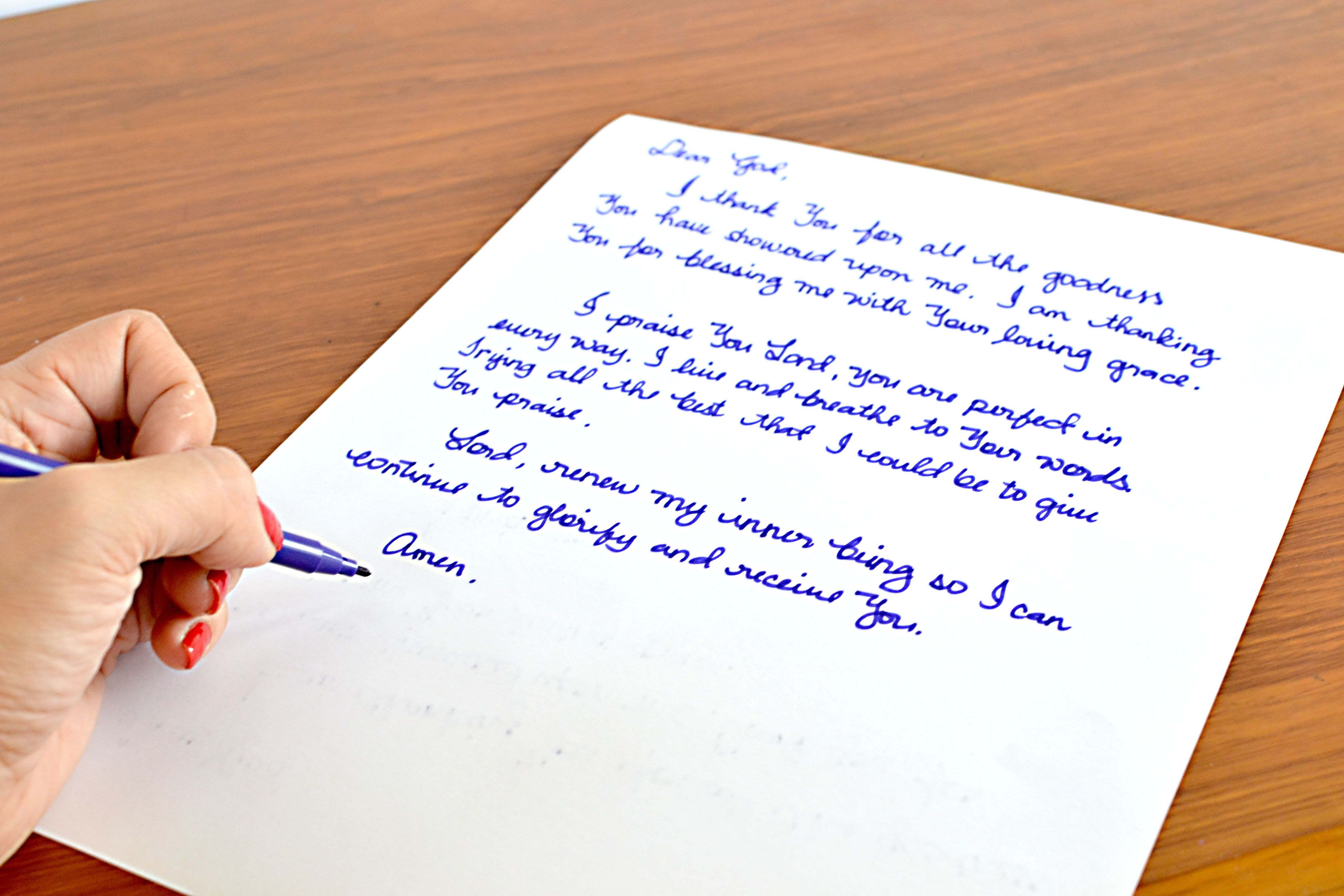 Write a Prayer Letter to God Letters to god, Lettering