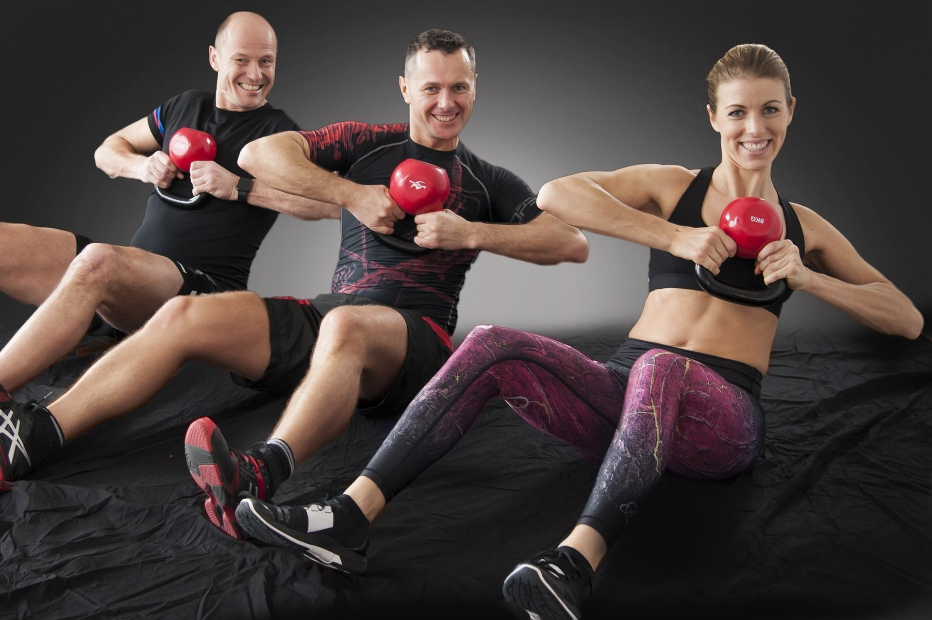 Gym - In a gym, also often a fitness center or sports studio ... #center #a #fitness #fitnessstudio...