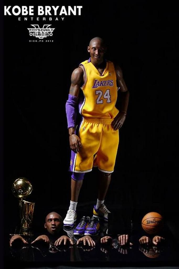 24 Season 2015//16 Custom Kit In-stock 1//6 Scale Kobe Basketball No