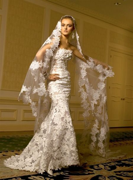 Spanish wedding gown - California Wedding: http://www ...