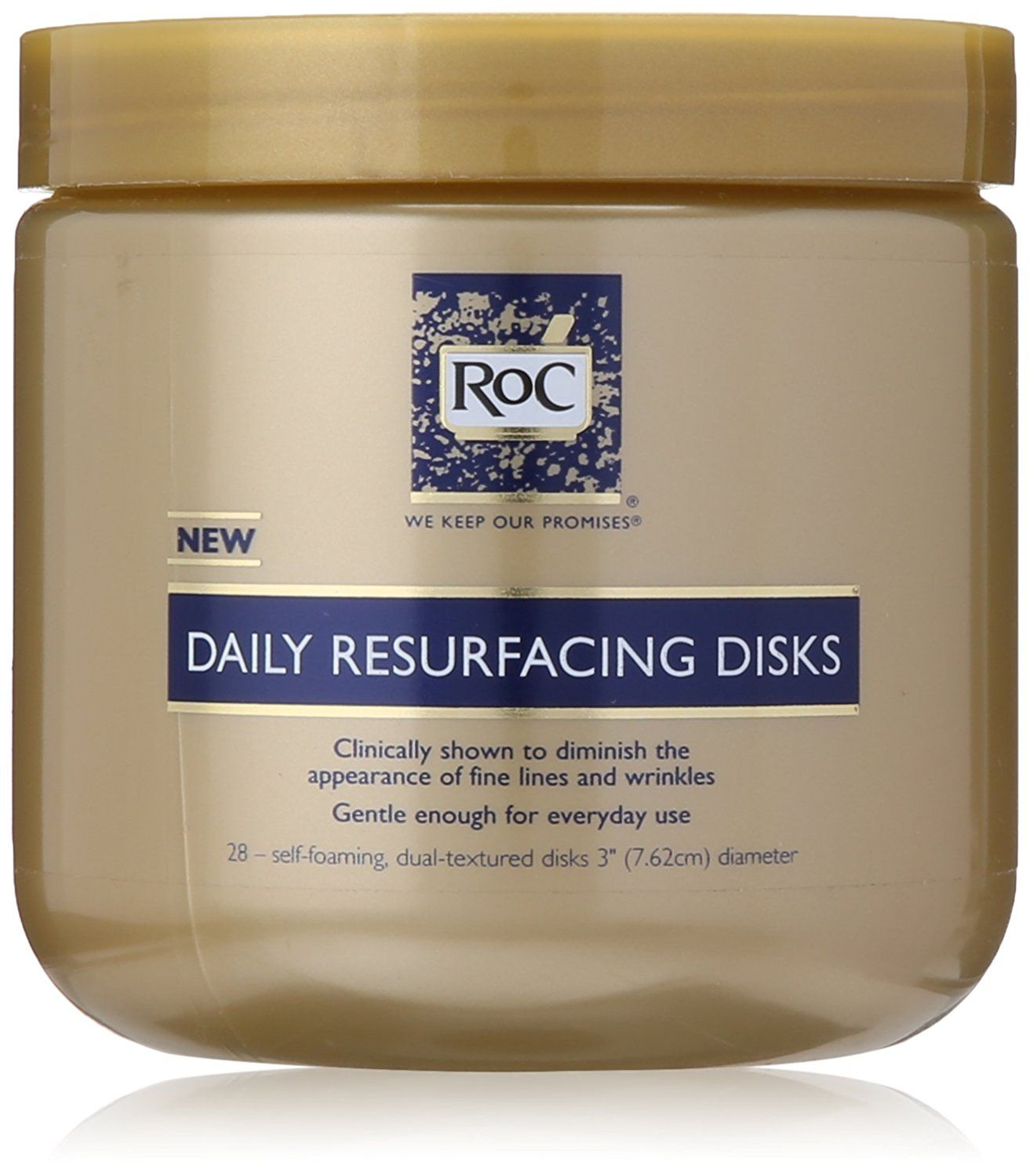 Roc Daily Resurfacing Disks 3 Inch 28 Disks Quickly View This Special Product Click The Im Skin Cream Anti Aging Anti Aging Skin Treatment Cleansing Pads