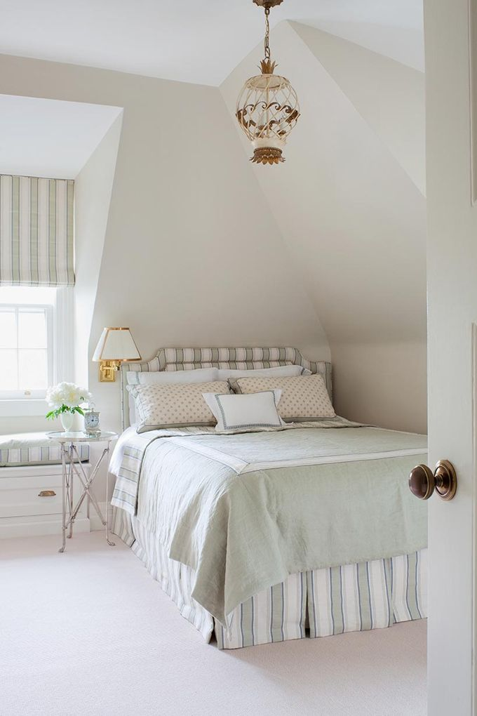 Benjamin Moore Pale Oak. Light rich paint color with a lot of depth. Anne Hepfer Designs