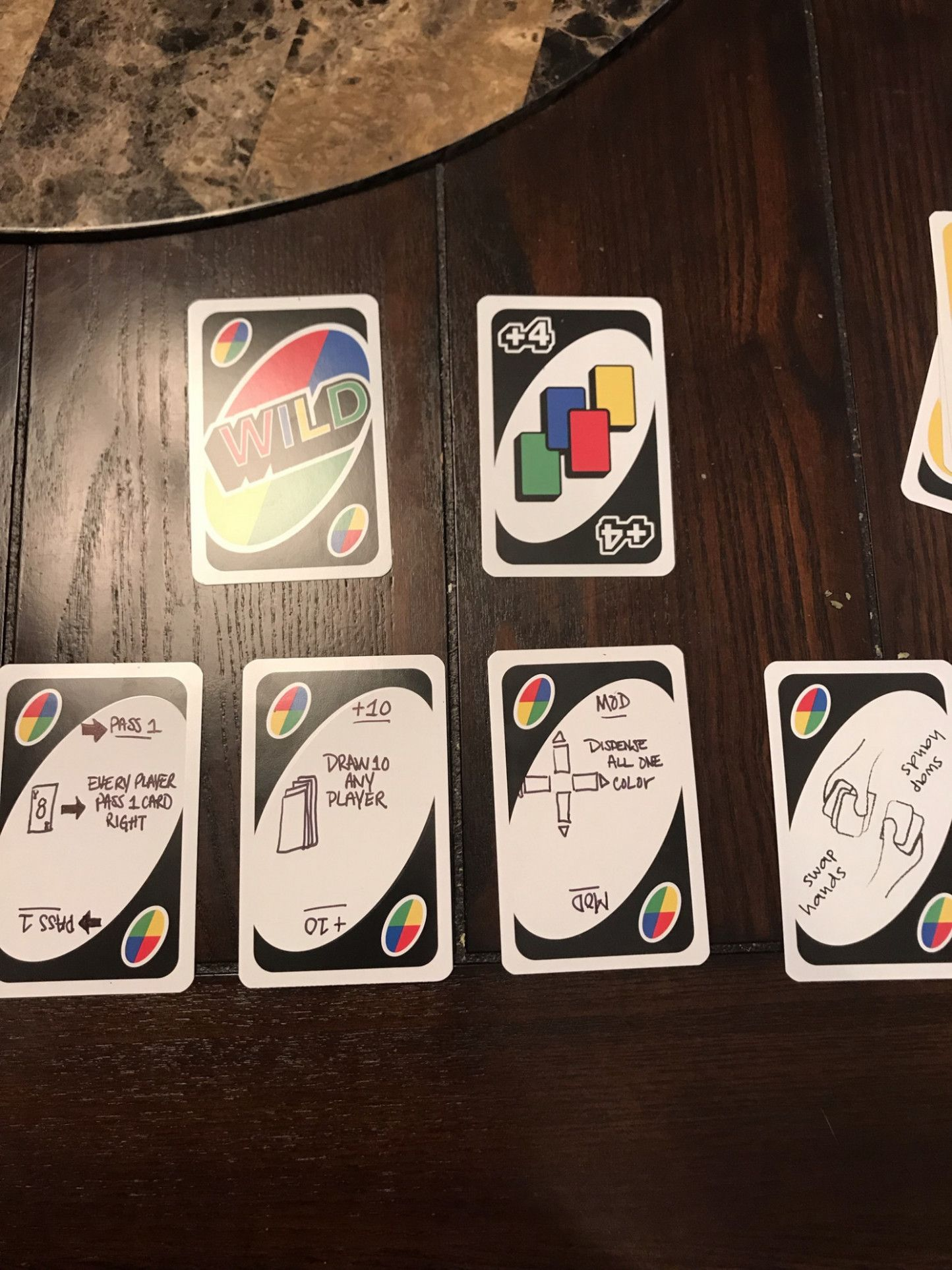 New Uno Rules Blank Invitation Card in 2020 Uno cards