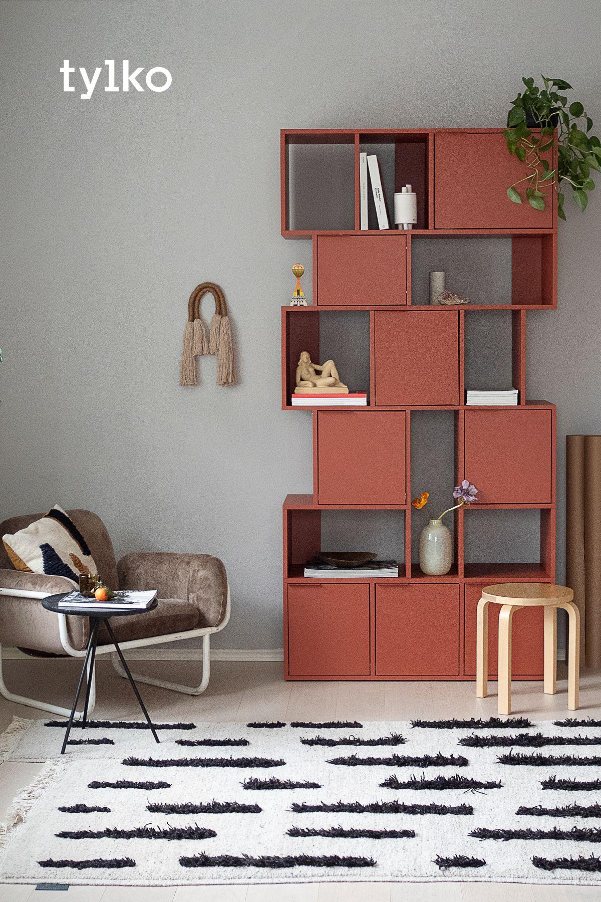 The modern way to organise your space  Wohnzimmer einrichten