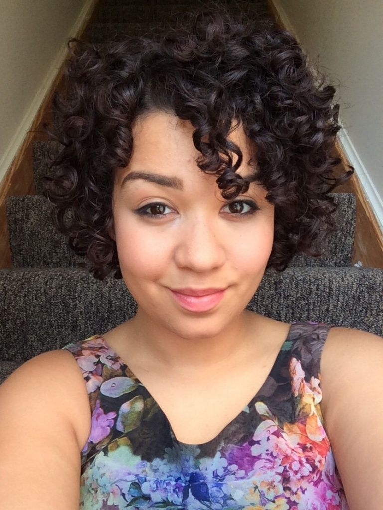 Wash  Go New DevaCurl Products Hairstyle Curls Pinpressive - Short hairstyles with curls