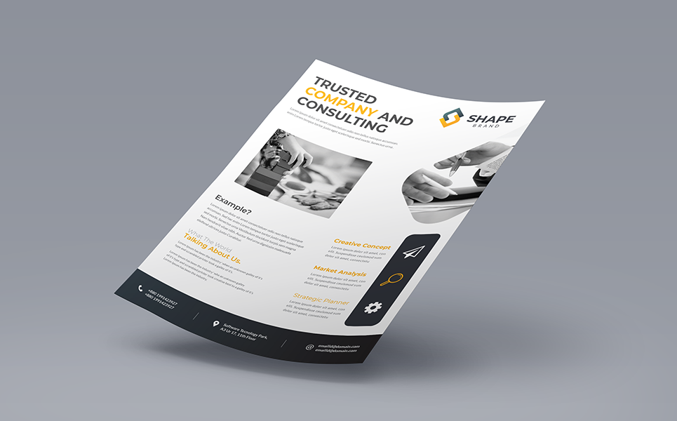 TRUSTED COMPANY AND CONSULTING FLYER PSD Corporate ...