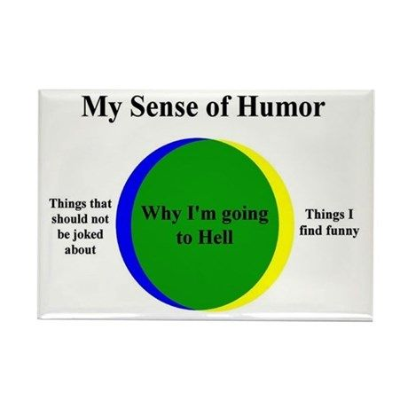 Going To Hell Rectangle Magnet by TheYankeeDingo - CafePress