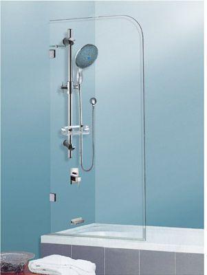 Over Bath Shower Screen | Bathroom designs | Pinterest | Bath shower ...