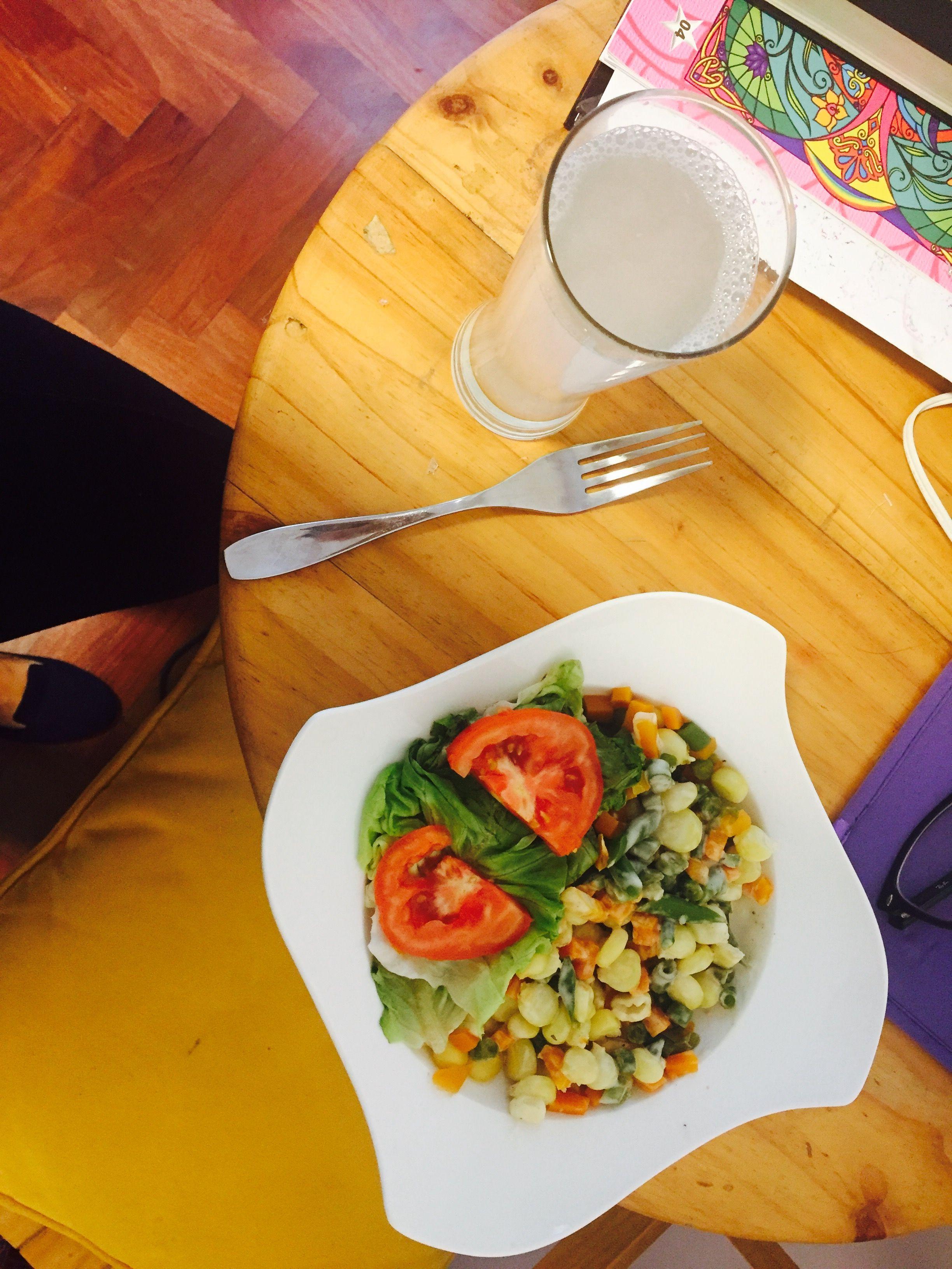❤️ amoooo!! La ensalada 🥗