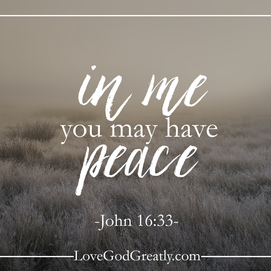{Week 3 - Friday Post} Jesus is the Prince of Peace – the creator of peace – and by His blood we are graciously granted peace. #NamesOfGod Bible Study @ LoveGodGreatly.com(InJapanese:〈†(新約)聖書〉ヨハネの福音書16:33 わたしがこれらのことをあなたがたに話したのは、あなたがたがわたしにあって平安を持つためです。…)-説明欄:イエス様は平和の君ー平和の創造者ーそしてこの方の血によって深い恵みとともに平安を頂いているのです。#NamesOfGod Bible Study @ LoveGodGreatly.com)