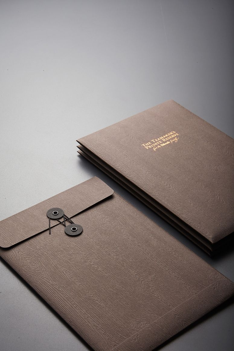 The Teamaker's Private Reserve Catalog envelope