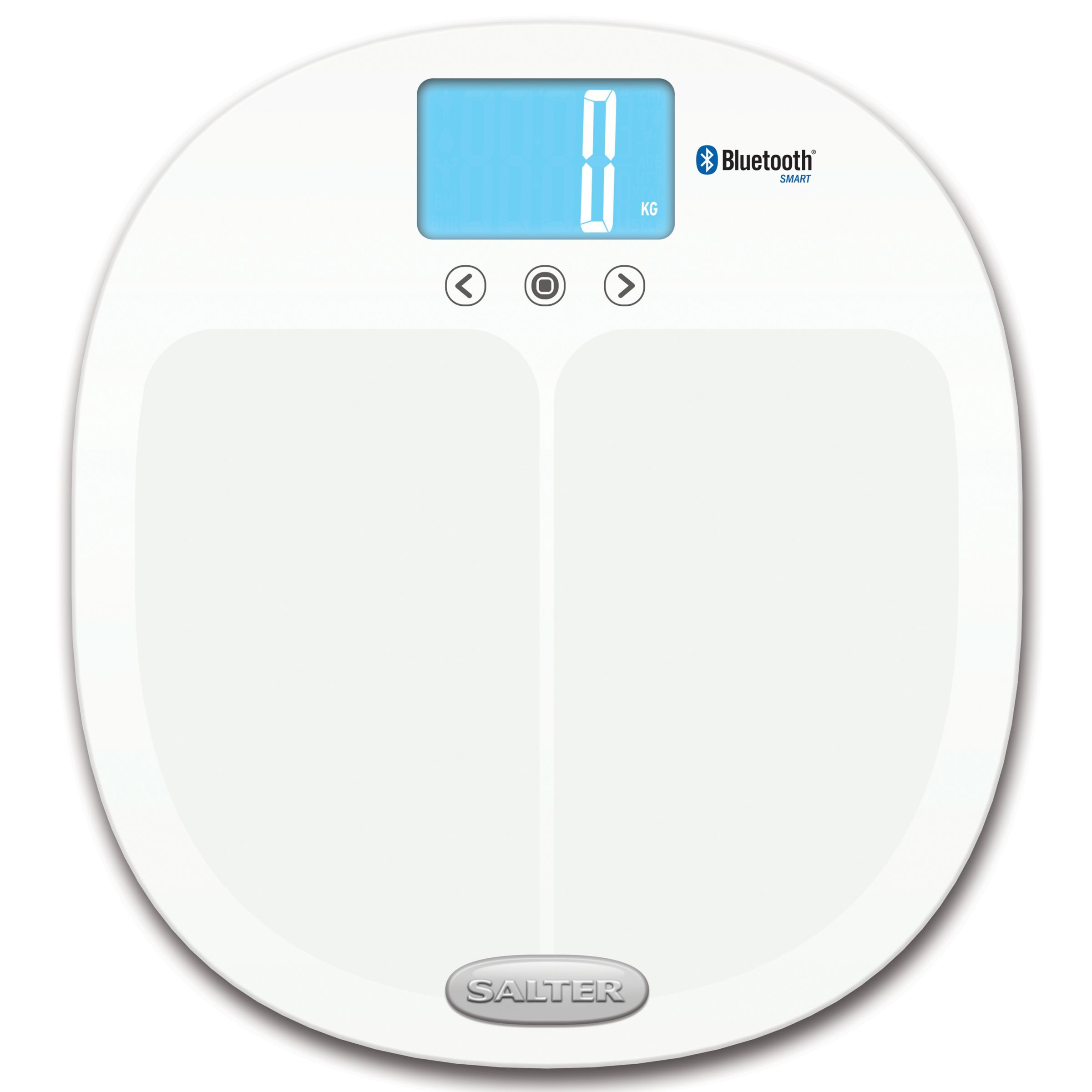 Salter Ito Bluetooth Analyser Pro Bathroom Scale Bluetooth Glass