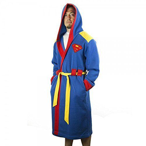 DC Comics Superman Hooded Robe with Belt | S/M