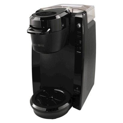 Mr. Coffee® Black Single Serve Coffee Brewer