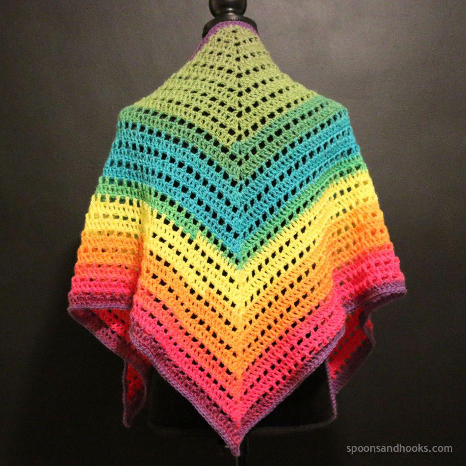 Free crochet pattern: One | Scarfs | Pinterest | Ganchillo crochet ...