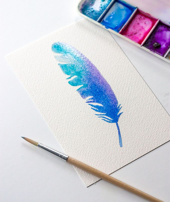 Crunchy Ramen Snack Mix Recipe Feather Art Watercolor Feather