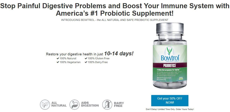 Bowtrolprobiotic improveddigestion betterelimination