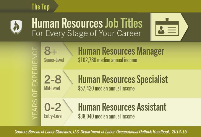 Human Resources Job Titles For Every Stage Of Your Career Human