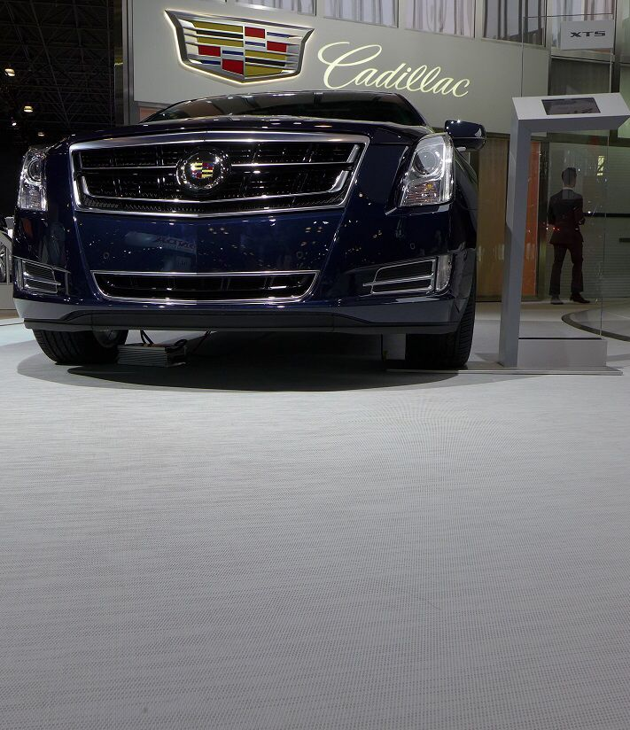 Chroma Pure White Collection At Cadillac's Showroom, New