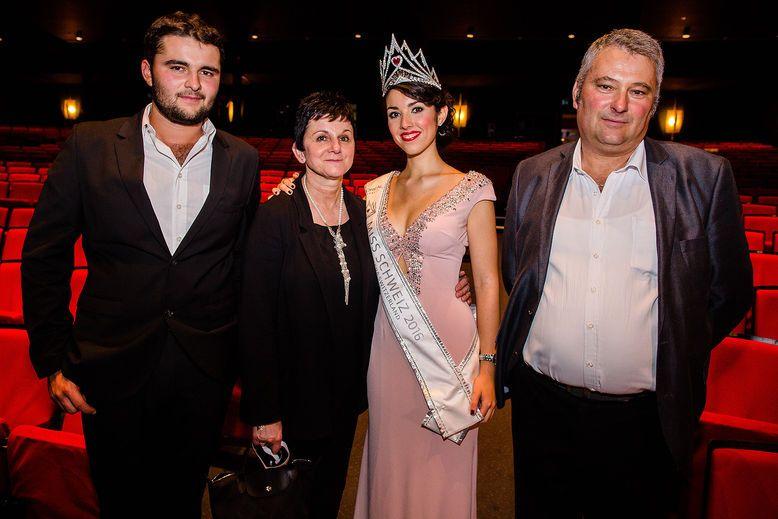 Miss Schweiz 2016 Lauriane Sallin Familie tote Schwester Interview