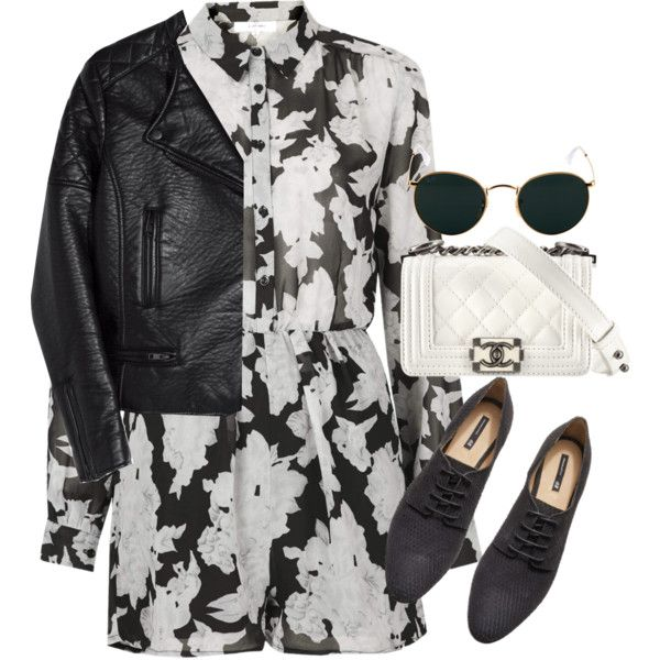 """""""Untitled #9315"""" by theleatherlook on Polyvore"""