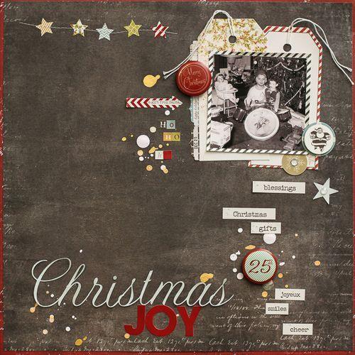 ChristmasJoy_DianePayne-1 on Fancy Pants Designs blog--love the stitched details.