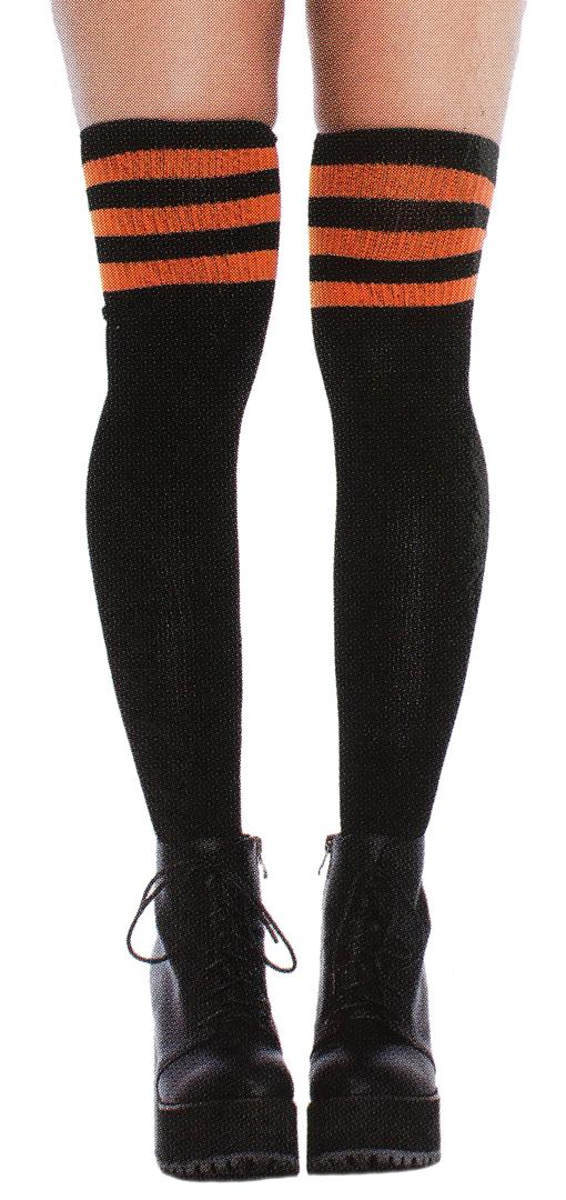 93b3bde1a7a Athletic thigh high socks blk org