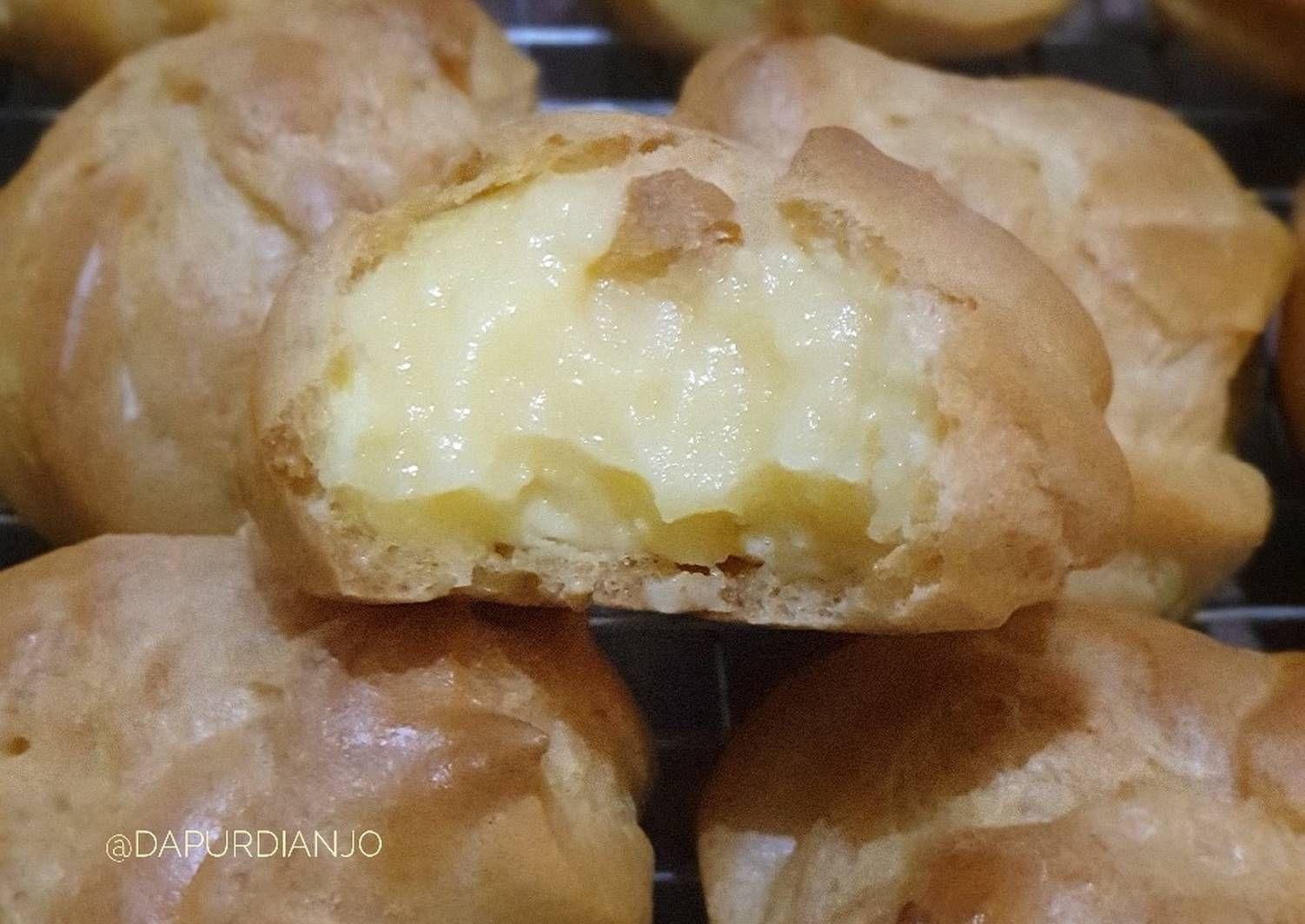 Resep Soes Vla Oleh Dianjo Resep Pastry Resep Resep Masakan
