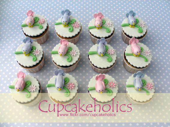 Bird Cupcakes | Flickr: Intercambio de fotos