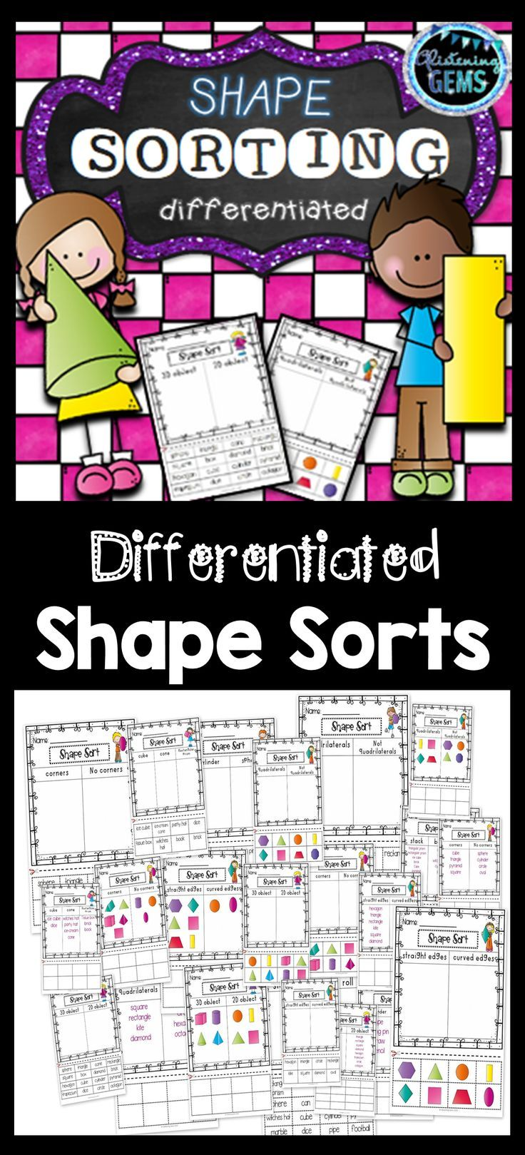 2d and 3d shapes worksheets shapes and attributes first grade shapes worksheets 3d shapes. Black Bedroom Furniture Sets. Home Design Ideas