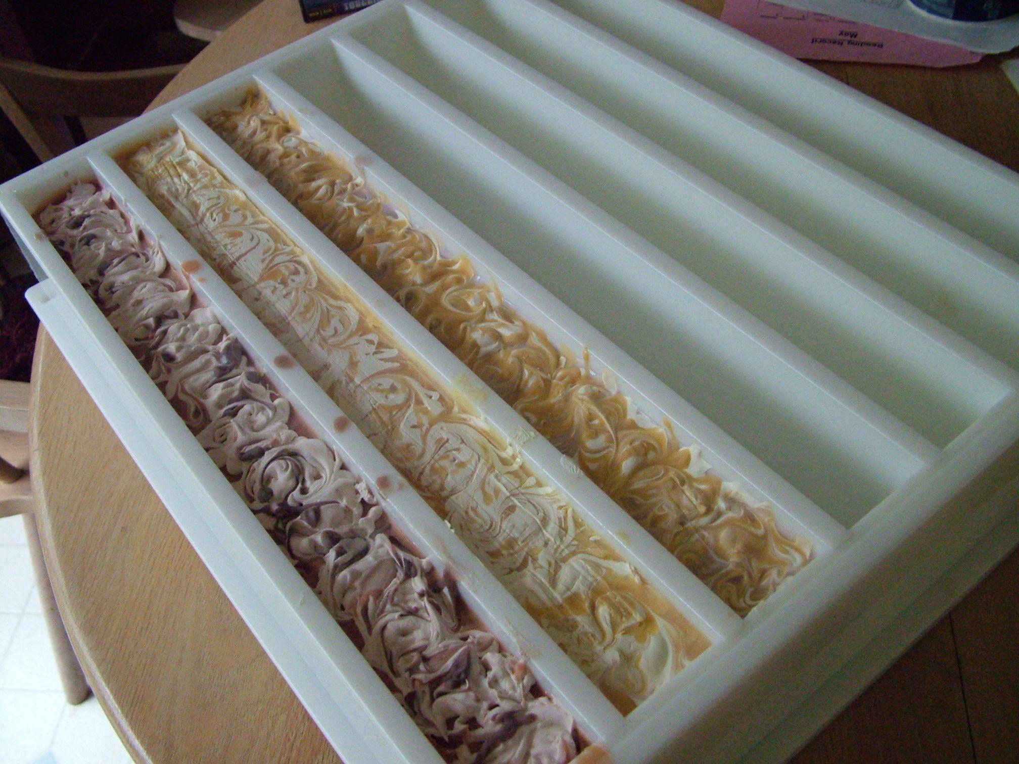 handmade bar soap size Google Search Soap molds diy
