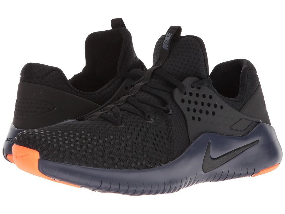 Nike Free Trainer V8 Men s Cross Training Shoes Black Thunder Blue Hyper  Crimson 0d172a4eb