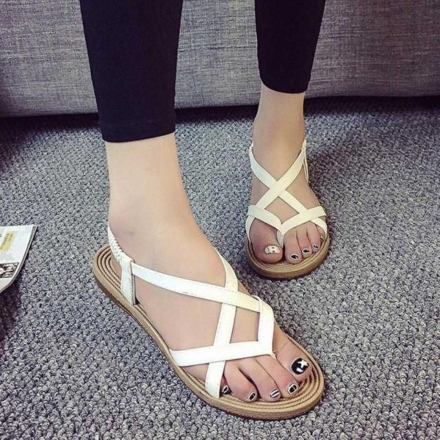 Summer Women Flat Shoes Fashion Bohemia Leisure Lady Sandals Outdoor Shoes