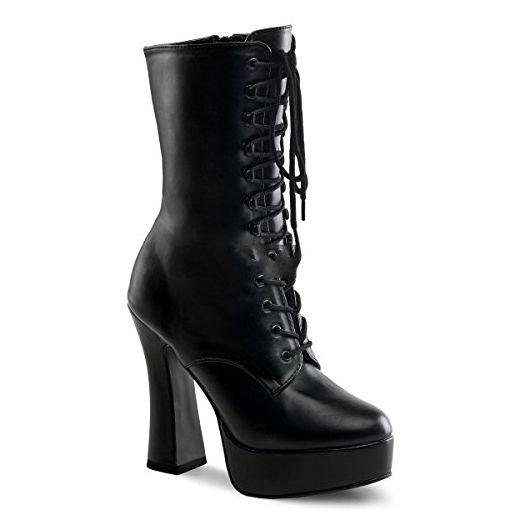 Pleaser Electra-1020 - Sexy Komfort Plateau-Stiefel High Heels 36-45,