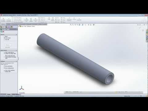 Linking Data from Microsoft Excel to a SolidWorks Model - YouTube