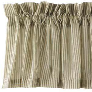 The Country House Collection Sage Stripe Sheer Valance 8 Https Www Amazon Com Dp B00jqeroyg Ref Cm Sw R Pi Dp X Lqte Sheer Valances Country House Valance