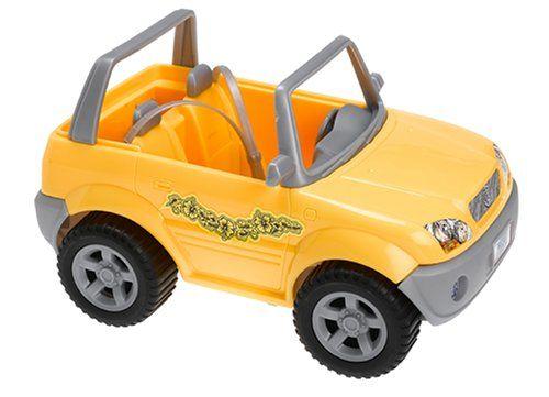 Barbie Beach Blast 4x4 Jeep Vehicle Yellow Click On The Image