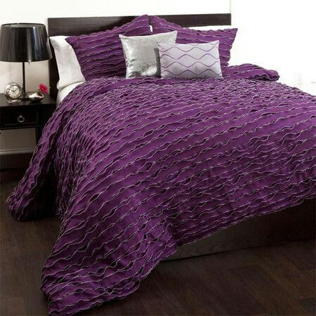 Purple Bed Cover Comforter Sets Chic Comforter Purple Bedding