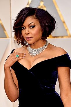 Actor Taraji P. Henson attends the 89th Annual Academy
