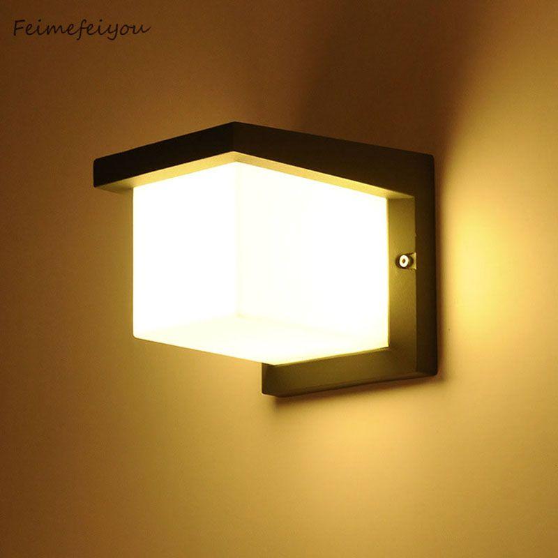 Feimefeiyou Outdoor wall lamp IP65 Waterproof Outdoor wall lighting ...
