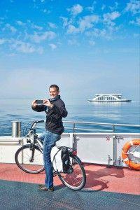 Ruhepause Fur Radler Auf Der Fahre Radtour Fahrradtour