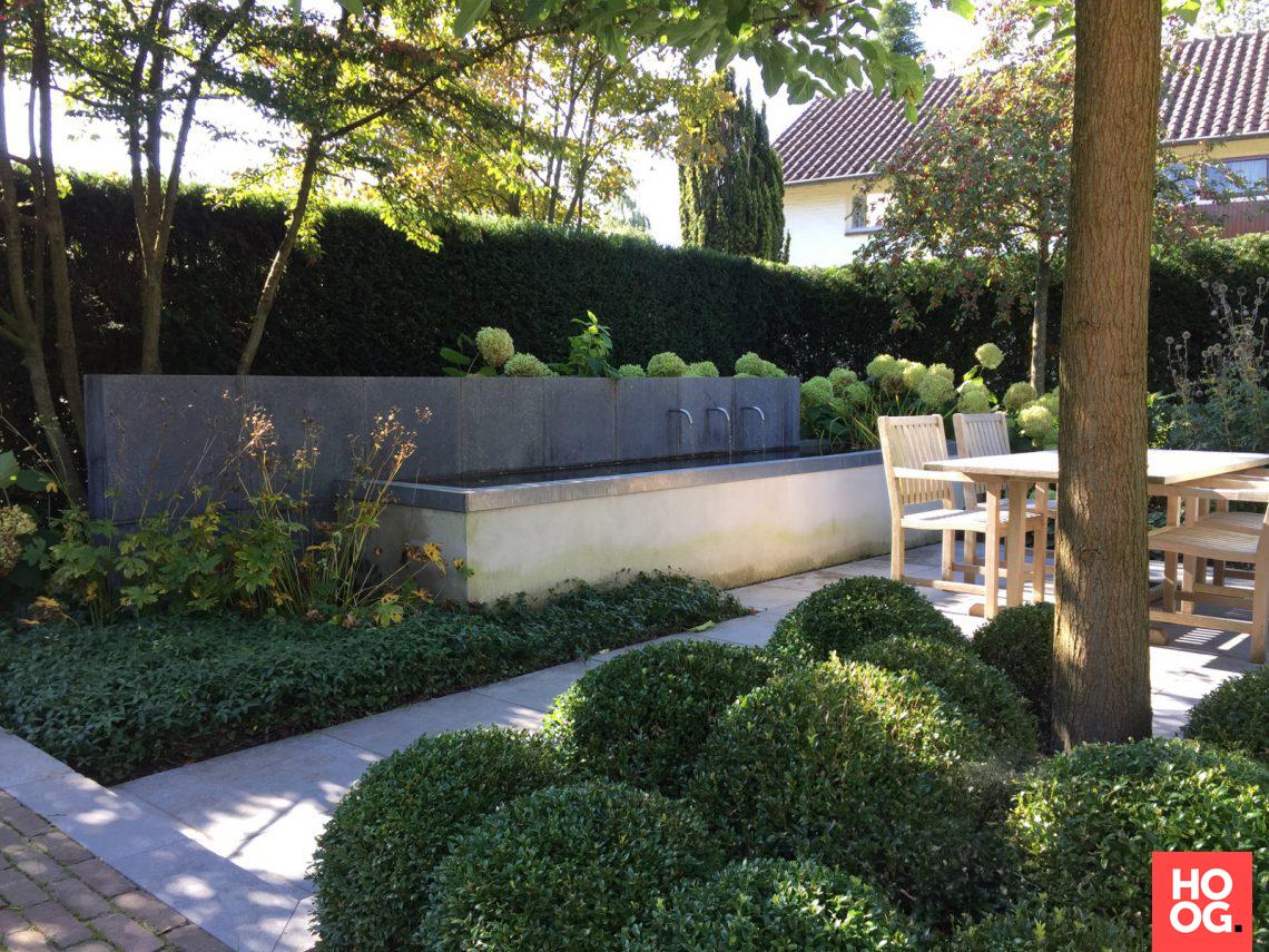 Groenseizoen moderne kleine tuinen hoog □ exclusieve woon en